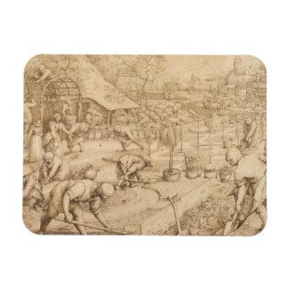 Magnet Flexible Pieter Bruegel l'aîné - ressort
