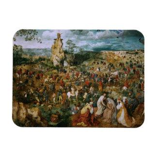 Magnet Flexible Pieter Bruegel le cortège d'Aîné-Le vers le