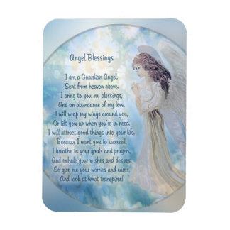 Magnet Flexible Poème de bénédictions d'ange