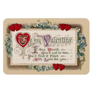 Magnet Flexible Poème de Valentine