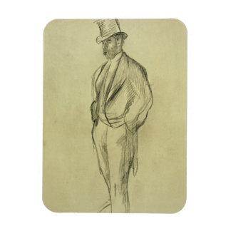 Magnet Flexible Portrait d'Edgar Degas | de Ludovic Halevy
