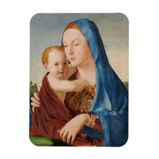 Magnet Flexible Portrait Mary et bébé Jésus
