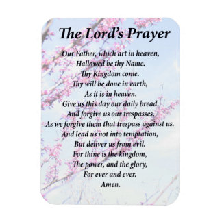 Magnet Flexible Prayer du seigneur
