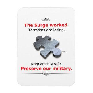 Magnet Flexible Préservez nos militaires