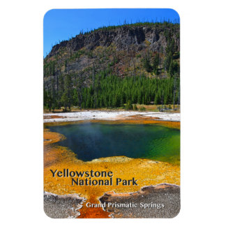 Magnet Flexible ~ prismatique grand Yellowstone, Wyoming de
