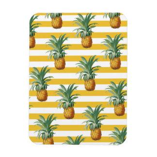 Magnet Flexible rayures jaunes de pinepples