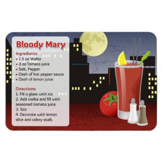 Magnet Flexible Recette de Mary sanglante