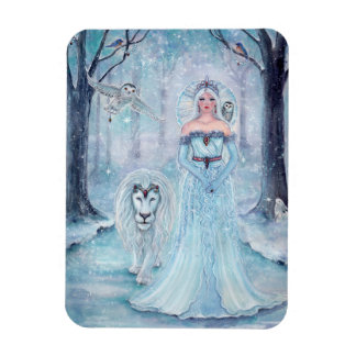 Magnet Flexible Reine magique d'hiver avec l'aimant de lion par