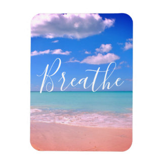 Magnet Flexible Respirez | pour la plage, aimant de motivation