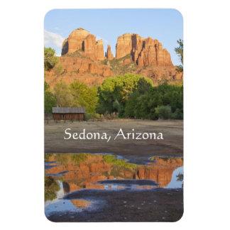 Magnet Flexible Roche rouge croisant Sedona, Arizona