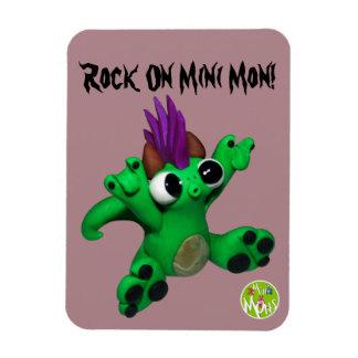 Magnet Flexible Roche sur le mini aimant de lundi