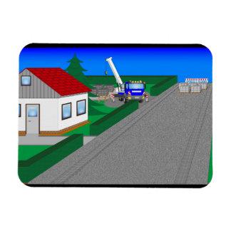 Magnet Flexible Routes et construction