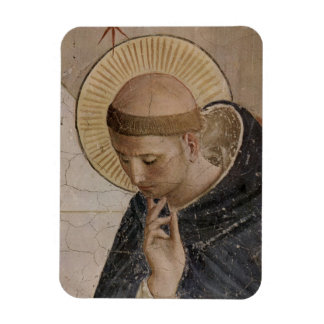 Magnet Flexible Saint Francis d'Assisi dans la contemplation