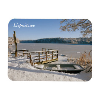 Magnet Flexible Scène d'hiver de Liepnitzsee