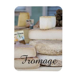Magnet Flexible Sélection française rustique de fromage