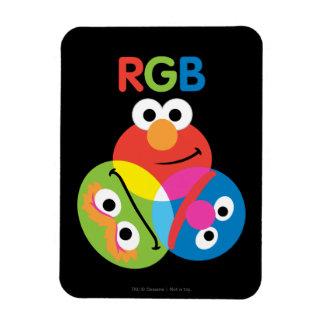 Magnet Flexible Sesame Street de RVB