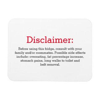 Magnet Flexible Signe drôle de réfrigérateur de déni de