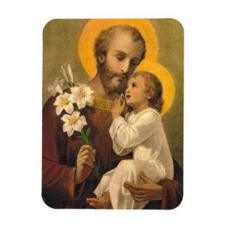 Magnet Flexible St Joseph avec l'aimant saint de Jésus d'enfant