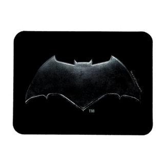 Magnet Flexible Symbole métallique de la ligue de justice | Batman