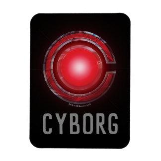 Magnet Flexible Symbole rougeoyant de cyborg de la ligue de