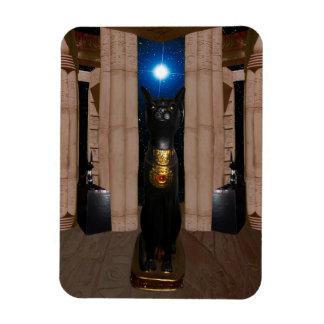 Magnet Flexible Temple d'aimant de photo de Bastet