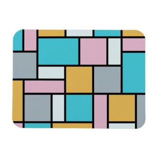 Magnet Flexible Theo van Doesburg - composition 17 - art de