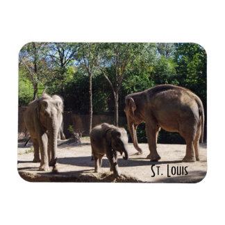 Magnet Flexible Trois éléphants