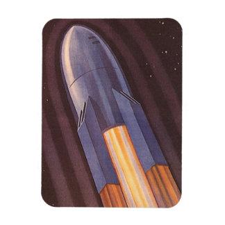 Magnet Flexible Vaisseau spatial vintage de la science-fiction