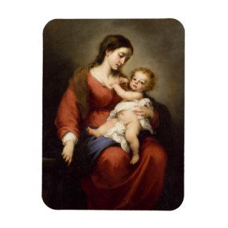 Magnet Flexible Vierge et enfant du Christ
