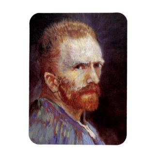 Magnet Flexible Vincent van Gogh - peinture 1887 d'autoportrait