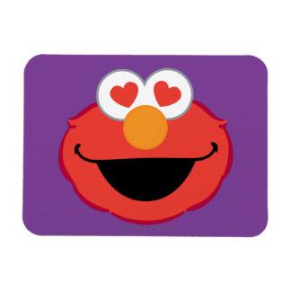 Magnet Flexible Visage de sourire d'Elmo avec les yeux en forme de