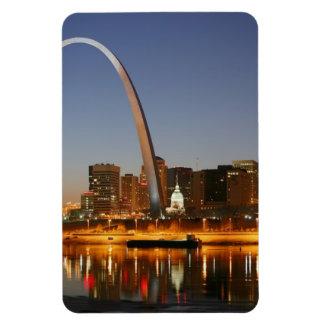 Magnet Flexible Voûte de passage St Louis Mississippi la nuit