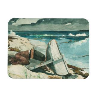 Magnet Flexible Winslow Homer - après l'ouragan, Bahamas