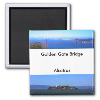 Magnet - golden gate bridge et Alcatraz