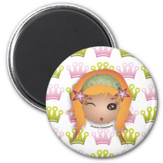 "Magnet ""Miss Princesse"" - Collection Kiwi Doll"