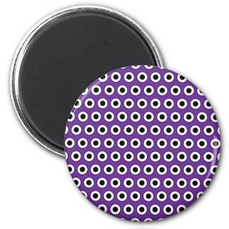 Magnet pourpre et noir de point