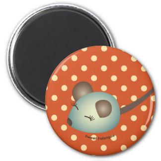 "Magnet ""Souris verte"" - Collection Kiwi Doll"
