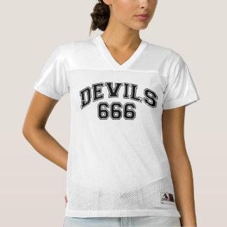 Maillot De Foot Pour Femmes Diables 666