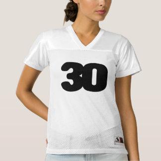 Maillot De Foot Pour Femmes Le 30ème football PERSONNALISABLE Jersey