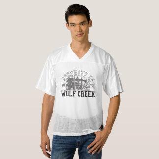 Maillot De Foot Pour Hommes Appui vertical le football Jersey de Wolf Creek -