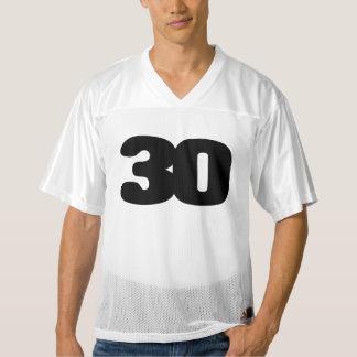 Maillot De Foot Pour Hommes Le 30ème football PERSONNALISABLE Jersey