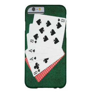 Mains de poker - la main de l'homme mort coque barely there iPhone 6