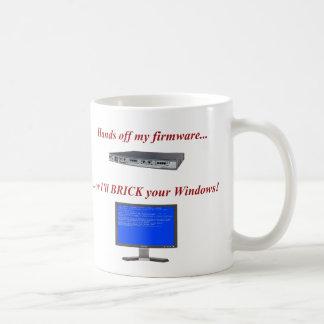 Mains outre de mes progiciels mug