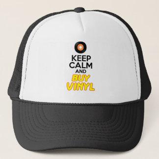 Maintenez calme et achetez le vinyle casquette
