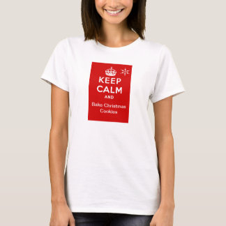 Maintenez calme et faites le T-shirt cuire au four