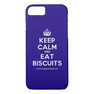 Maintenez calme et mangez les biscuits coque iPhone 7