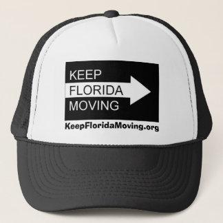 Maintenez le casquette mobile de la Floride dans