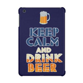 Maintenez mini cas calme et de boissons de bière