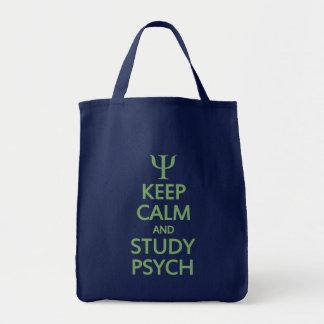 Maintenez sac calme et d'étude de Psych - pour
