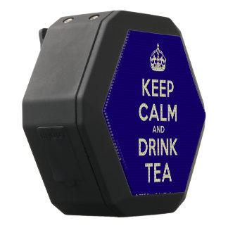 Maintenez thé calme et de boissons haut-parleurs noirs sans-fils